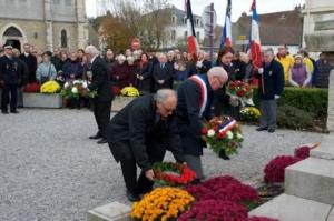 11 novembre 2018 - Centenaire de l' Armistice à Wimereux -Daniel Poissonier
