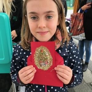 2018 12 HERNE BAY - Voici La carte de  notre amie Béatrice - Catherine Francis Yeats