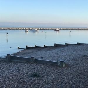 2019 01 Herne Bay par un matin glacial (5)- Catherine Francis Yeats