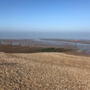 2019 02 - HERNE BAY - Vue sur mer - Catherine Francis-Yeats