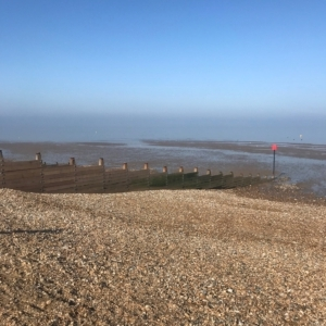 2019 02 - HERNE BAY - Vue sur mer - Catherine Francis-Yeats