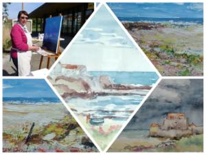 2019 07 05 Herne Bay exposition jumelages Beach Creative Annie Cocquerelle