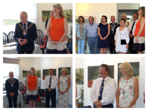 2019 07 05 Herne Bay exposition jumelages Beach Creative - Les discours