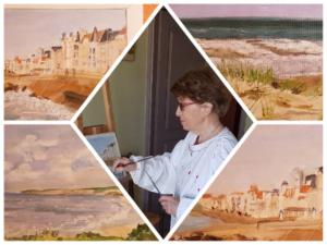 2019 07 05 Herne Bay exposition jumelages Beach Creative Monique Sergent
