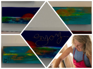 2019 07 05 Herne Bay exposition jumelages Beach Creative SOFI Sophie Defebvre